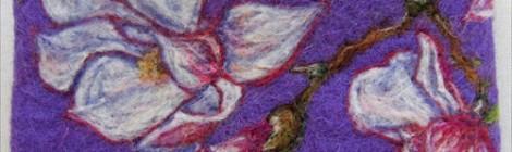 Needle Felting: Paint with Wool