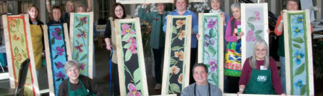The Art of Painting on Silk