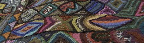 Guatemalan Hooked Rugs for Sale