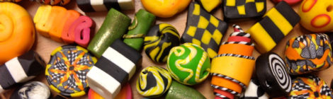 Beads and Buttons in Polymer Clay
