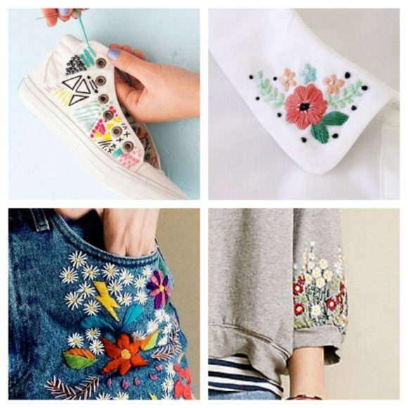 wearable stitches web collage