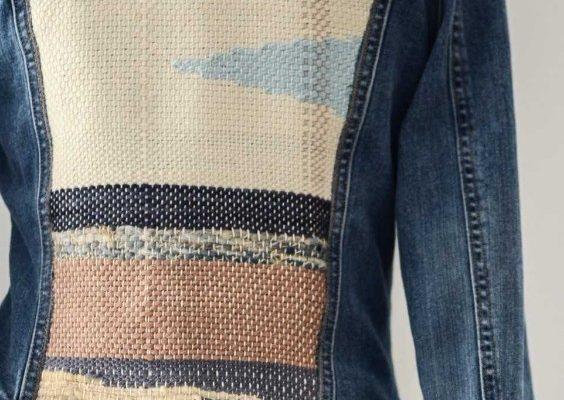 Lauren Oland denim jkt yarn fest
